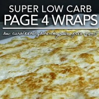 Page 4 Wraps - Low Carb Keto Tortillas (Induction Friendly|Gluten & Grain Free)