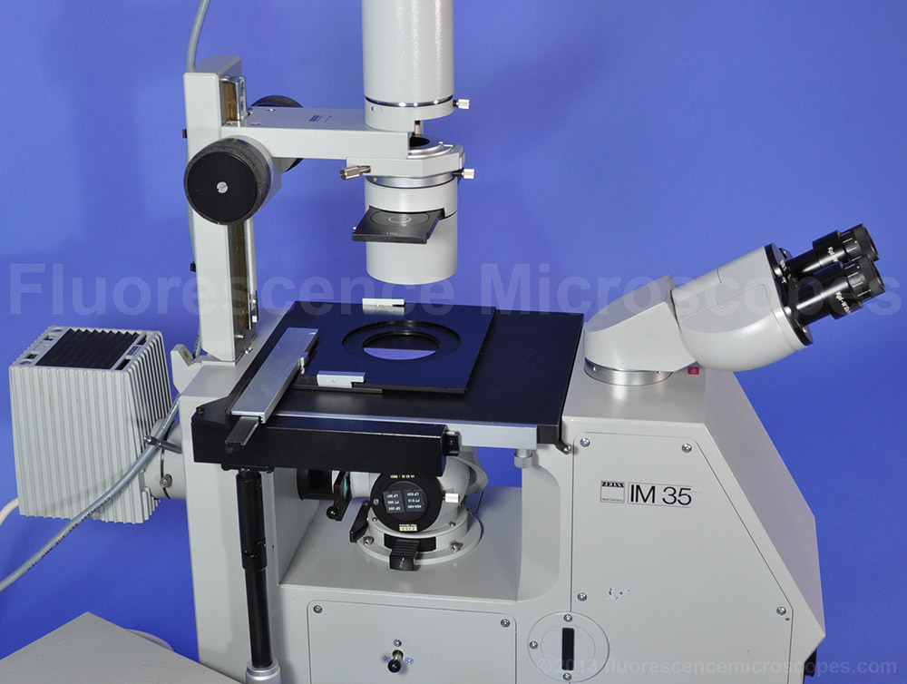 Fluorescent Lamp Fluorescence Microscopes - Zeiss Im35 Inverted