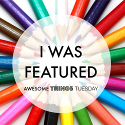 Featured on Awesome Things Tuesday