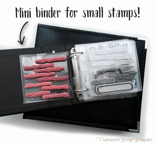 Mini Binder for Small Stamps