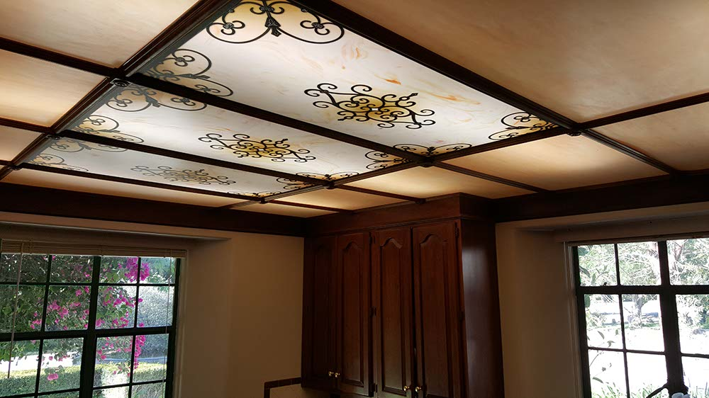 Led Home Lighting Business Fluorescent Light Covers & Decorative Ceiling Panels [200