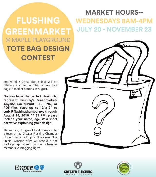 GreenMarket Tote Bag Design Contest