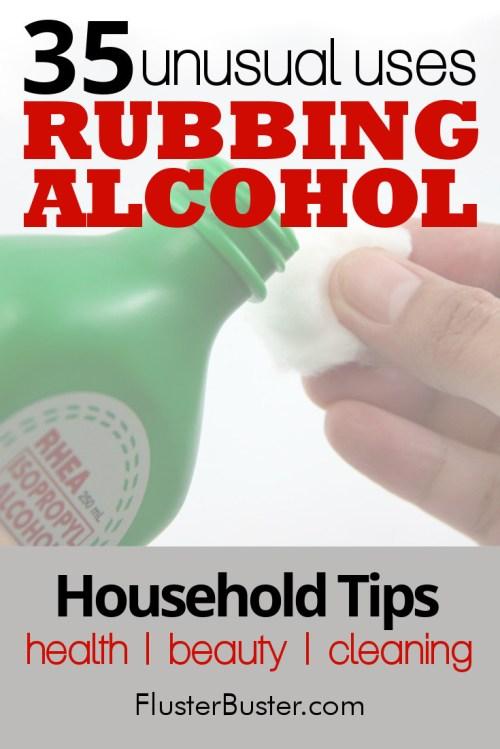 Medium Of Rubbing Alcohol In Ear