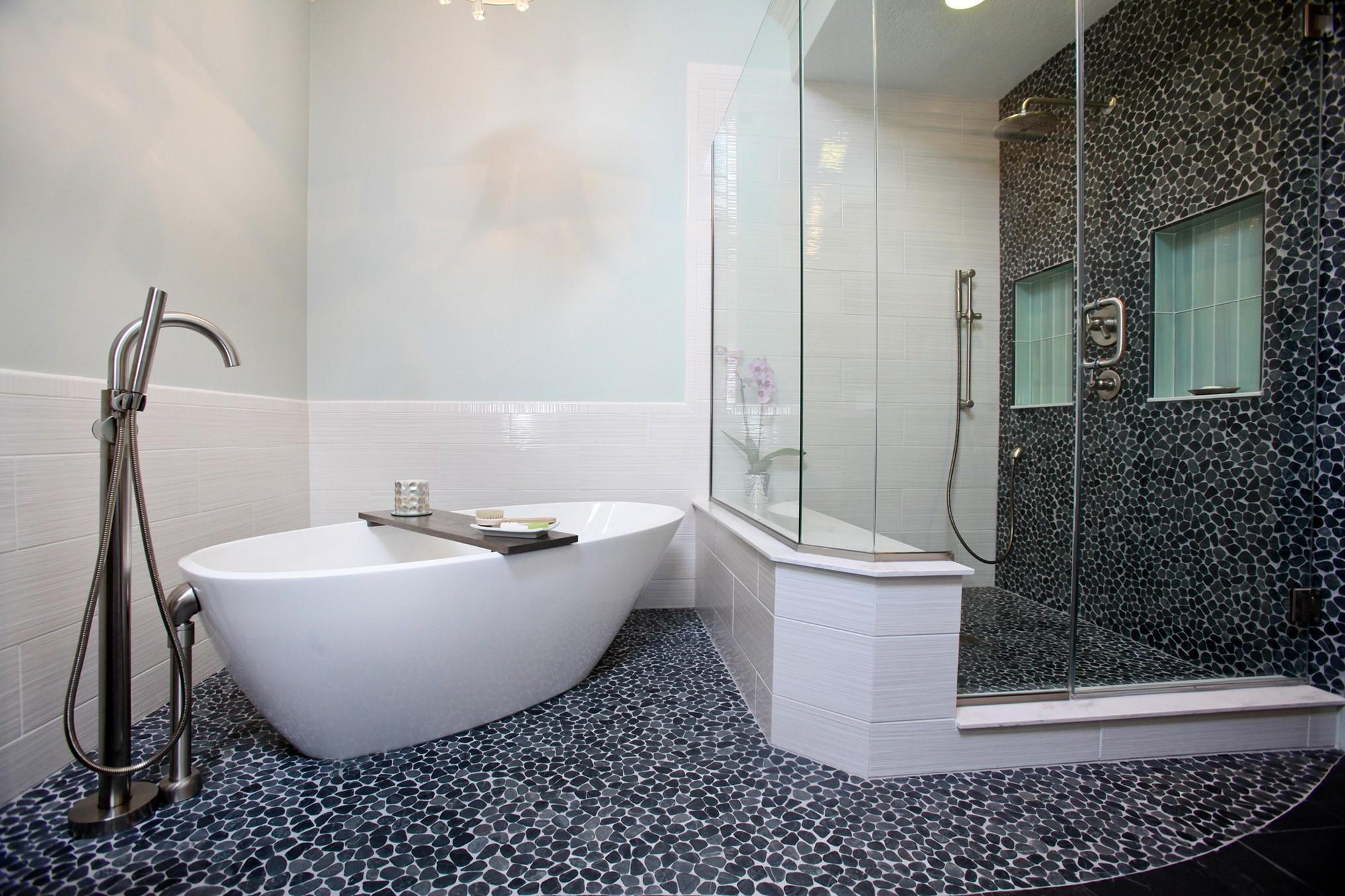 Bathroom Flooring Ideas In White Home Inspirations Best Interesting Bathroom Flooring Ideas