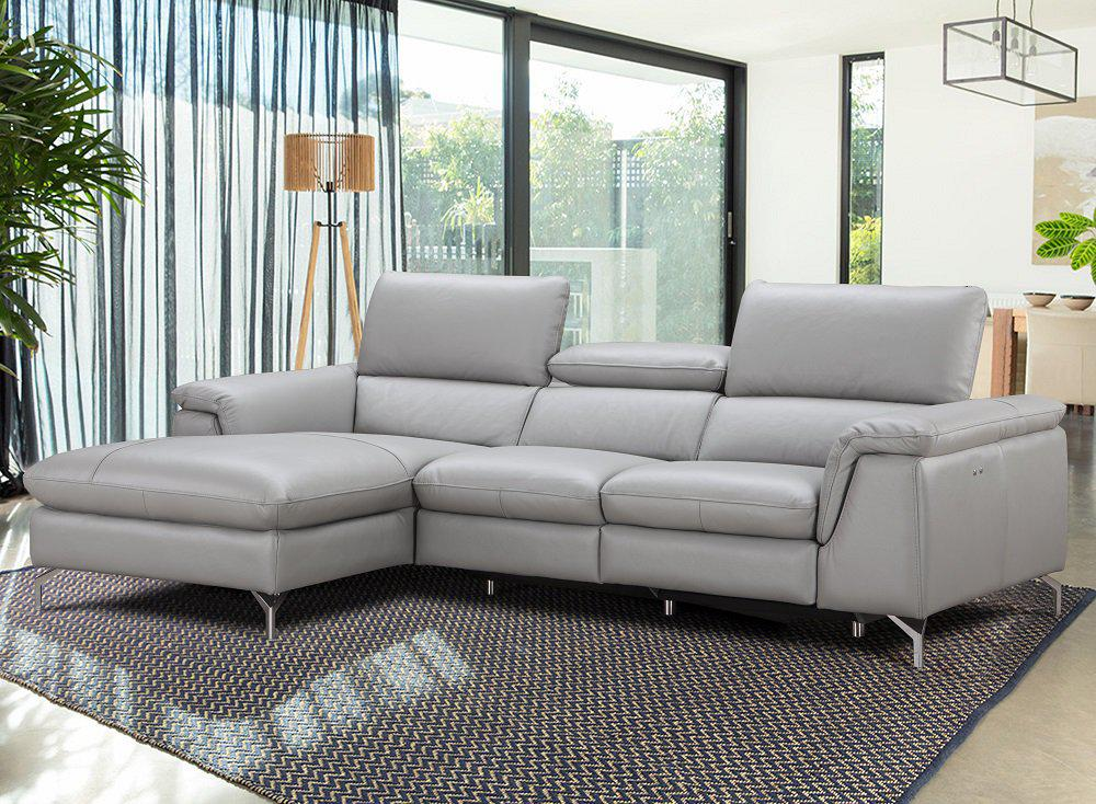 Sofa Restposten Contemporary Italian Leather Sectional Sofa
