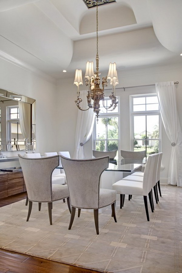 Dining Room 3d Wallpaper 40 Beautiful Modern Dining Room Ideas
