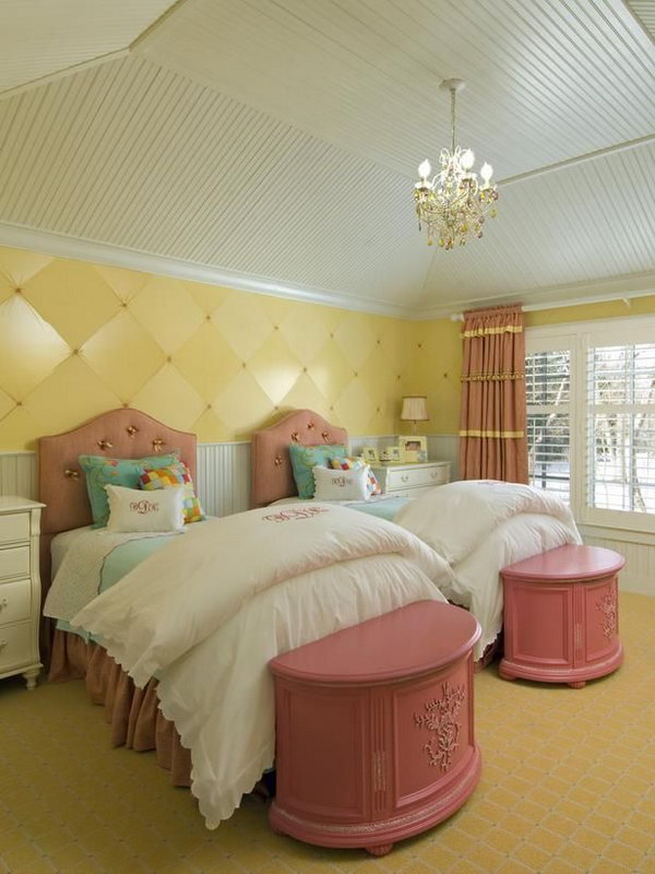 Girl Wall Decor Ideas 40+ Cute And Interestingtwin Bedroom Ideas For Girls