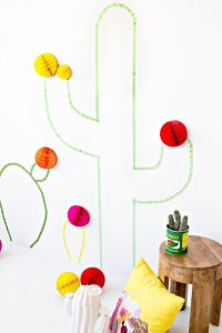20+ DIY Washi Tape Wall Art Ideas