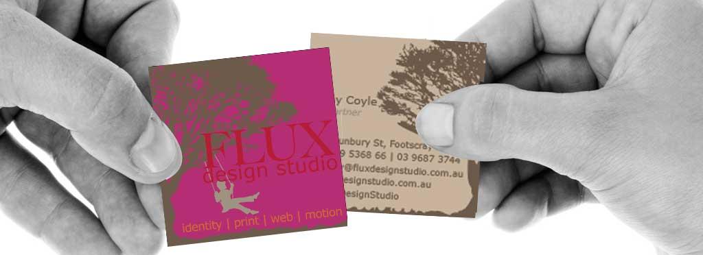 business cards - \u2022\u2022\u2022 FLUX Design Studio \u2022\u2022\u2022