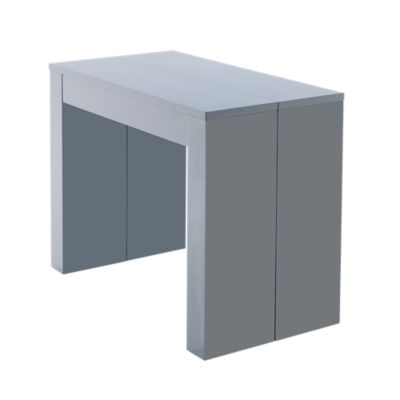 Table Extensible Fly Console Extensible Coloris Gris 50 250x95cm Fly