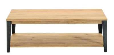Table Basse Fly Table Basse Gris/chene Oak | Fly