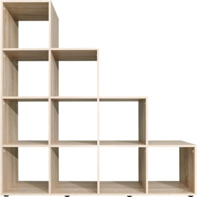Etagere Bureau But Etagere Escalier 10 Cases Chene Fly