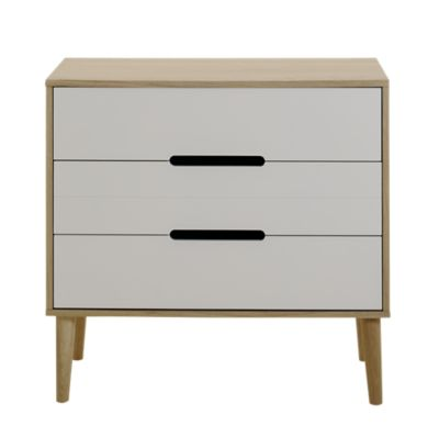 Commode Blanche Fly Commode Chene Laque Blanc Commode Chambre Meuble Fly