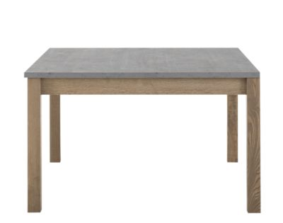 Rallonge Table Table Carree Avec Allonge Gris Bois Fly