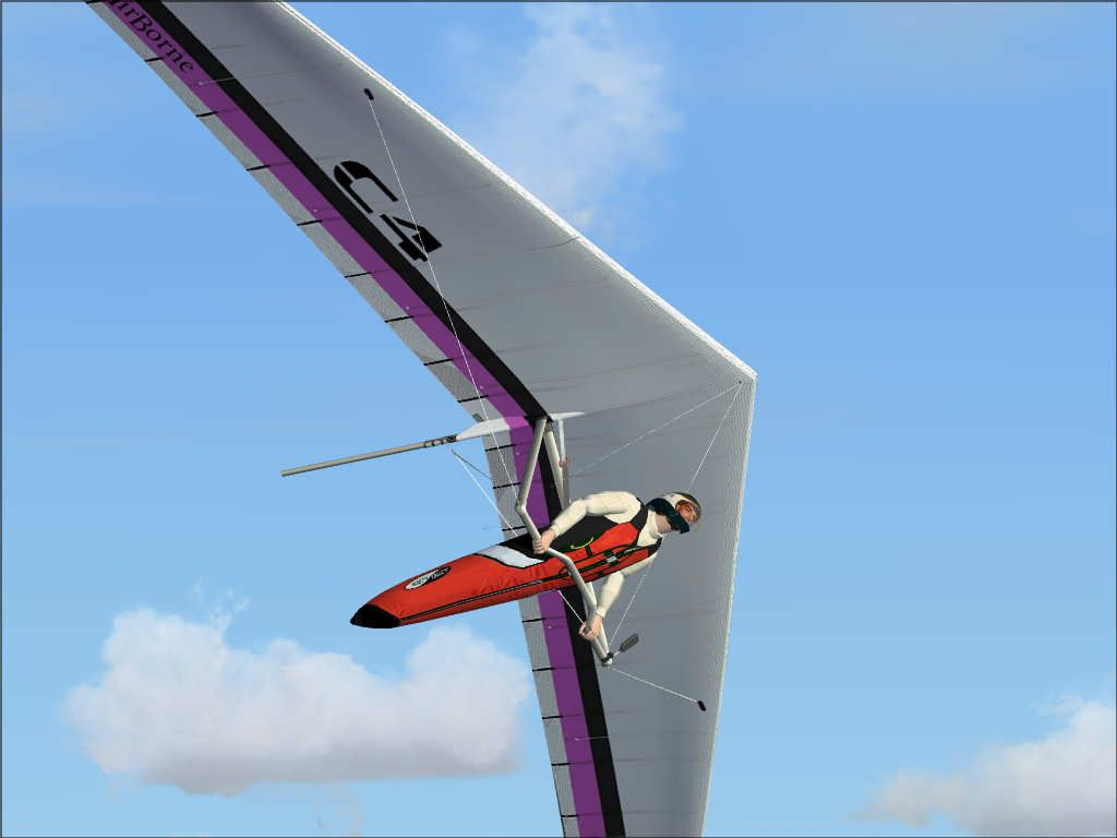 Animated Sky Wallpaper Airborne C4 Hang Glider For Fsx