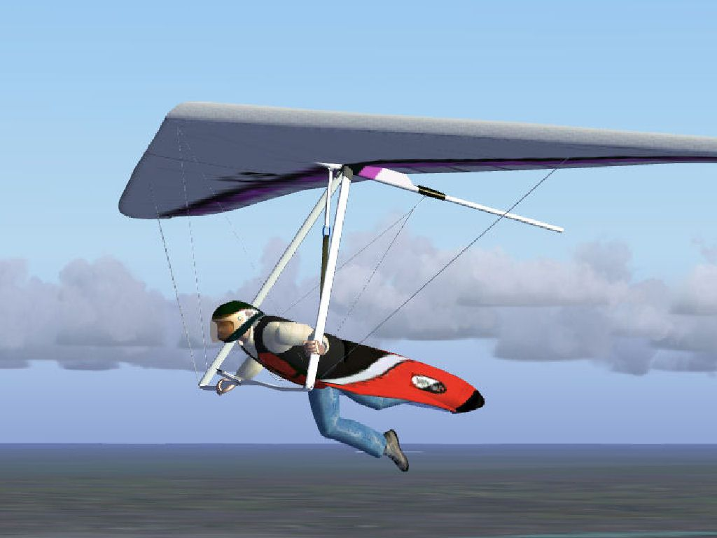 How To Set Animated Wallpaper Airborne C4 Hang Glider For Fsx