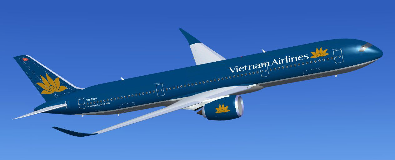 Microsoft Animated Wallpaper Vietnam Airlines Airbus A350 900 Xwb For Fsx