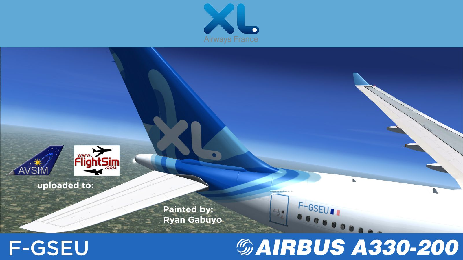 Interieur D'un Avion Xl Airways Xl Airways Airbus A330 200 F Gseu For Fsx