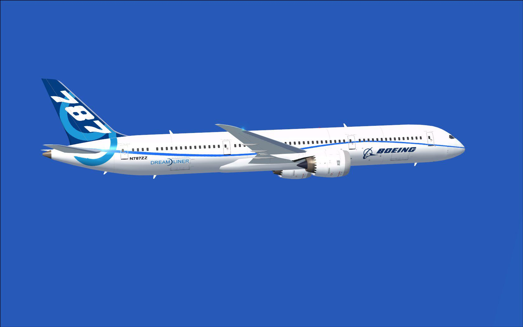 Boeing Airplane Boeing Flight Test Airplane 787 9 For Fsx