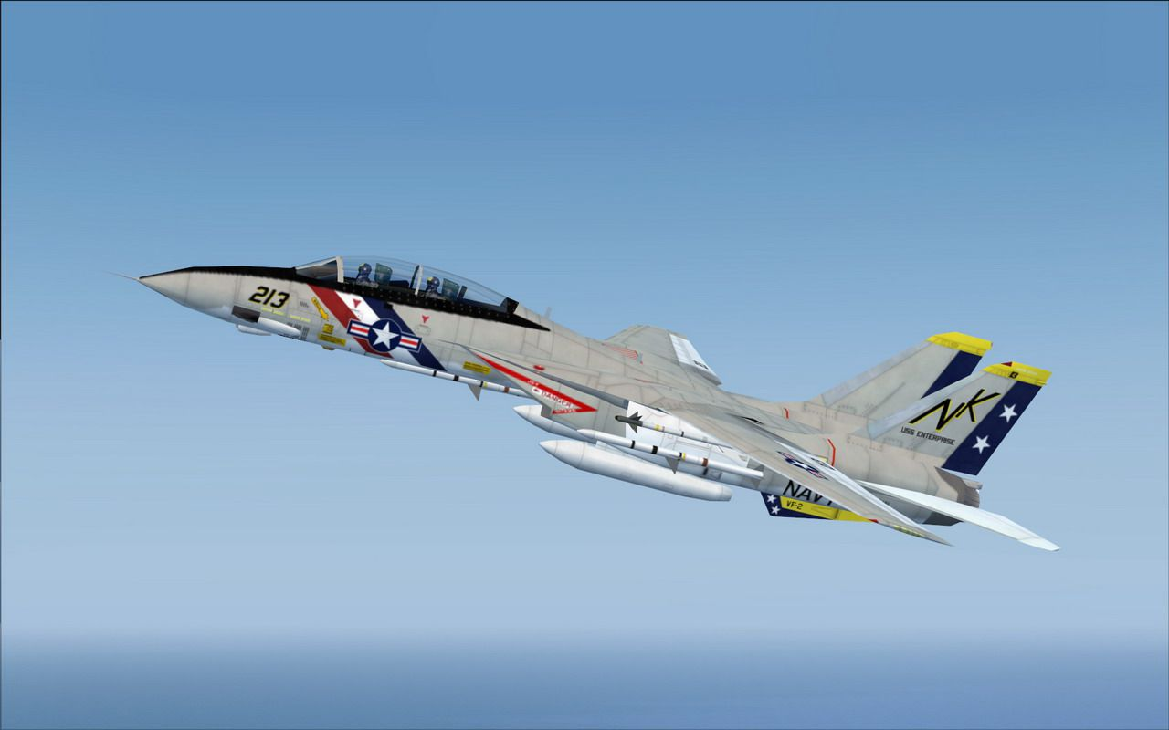Phantom Car Wallpaper Us Navy Grumman F 14a Tomcat Vf 2 For Fsx