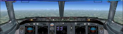Boeing 738 Panel For Dual Monitors for FSX