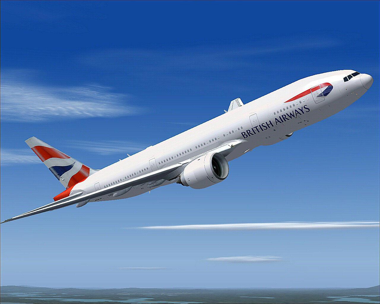 400 800 Hd Wallpaper British Airways Boeing 777 200 For Fsx