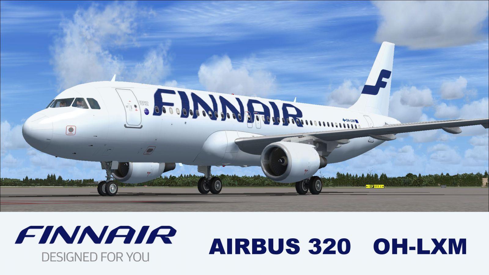 Fsx Wallpaper Hd Finnair Airbus A320 And A319 For Fsx