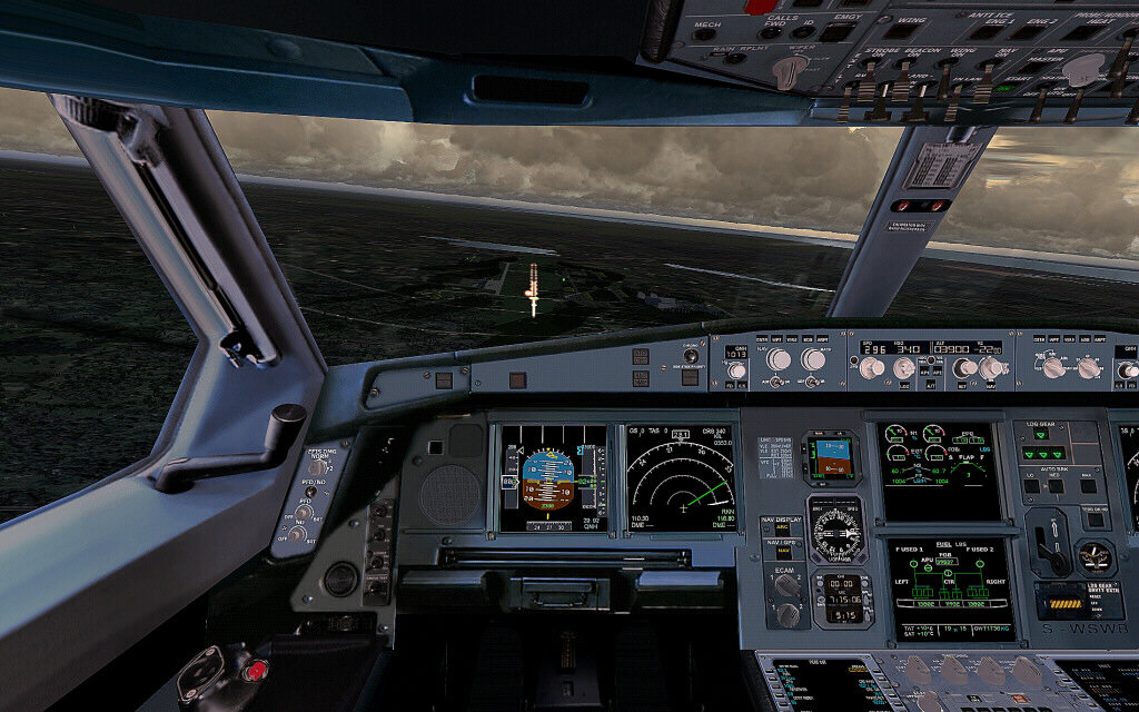 Lufthansa Airbus A320 For Fsx