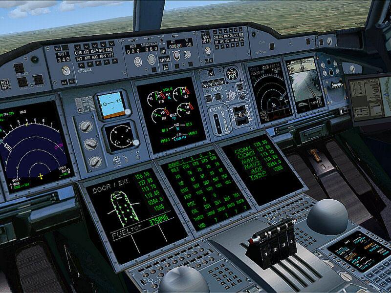 Fsx Wallpaper Hd Lufthansa Airbus A380 For Fsx