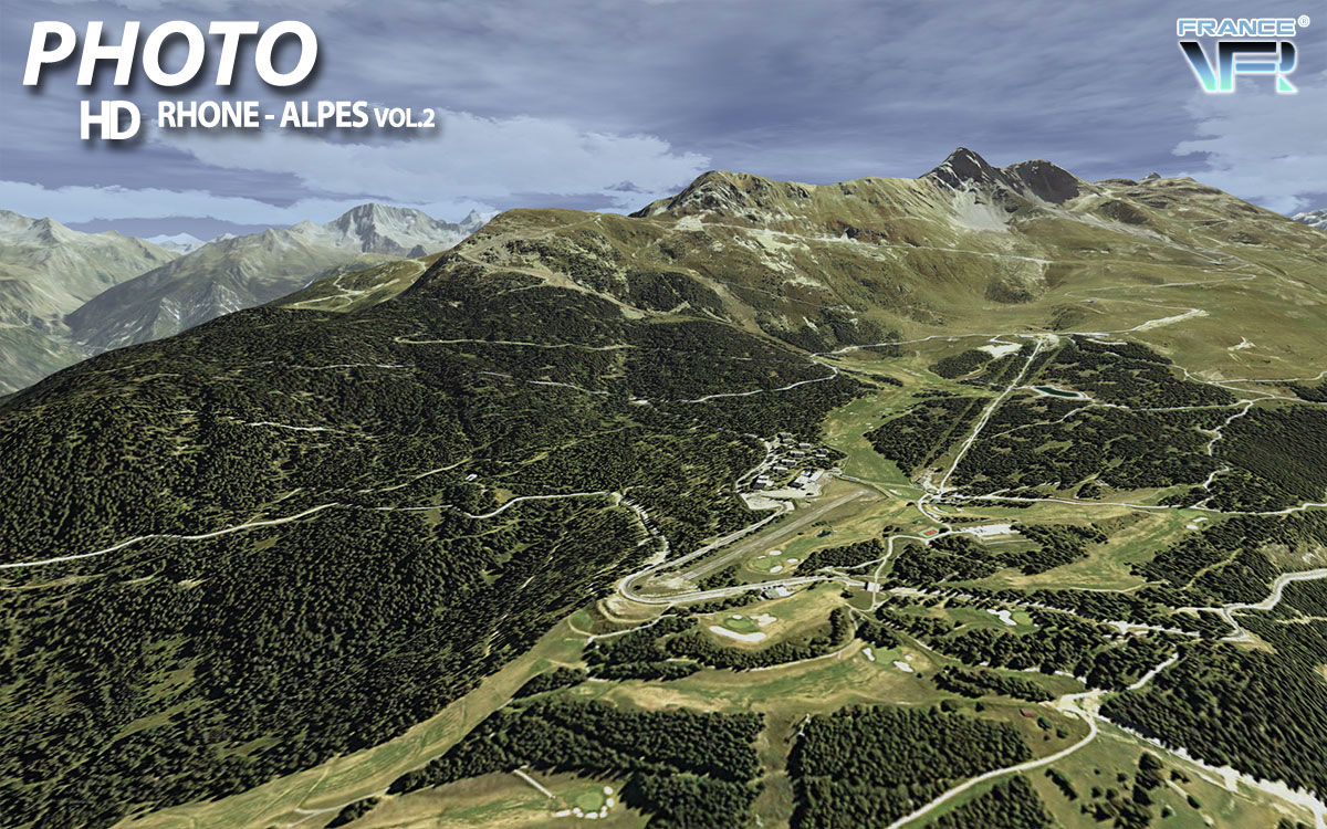 Fsx Wallpaper Hd France Vfr Alps Scenery Now Available
