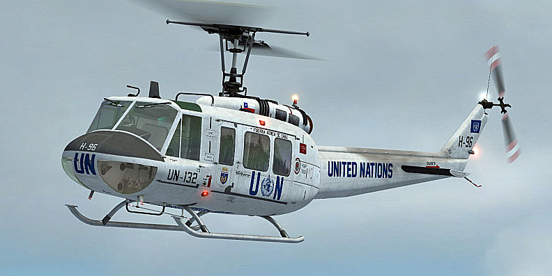 Fsx Wallpaper Hd United Nations Bell Uh 1h For Fsx