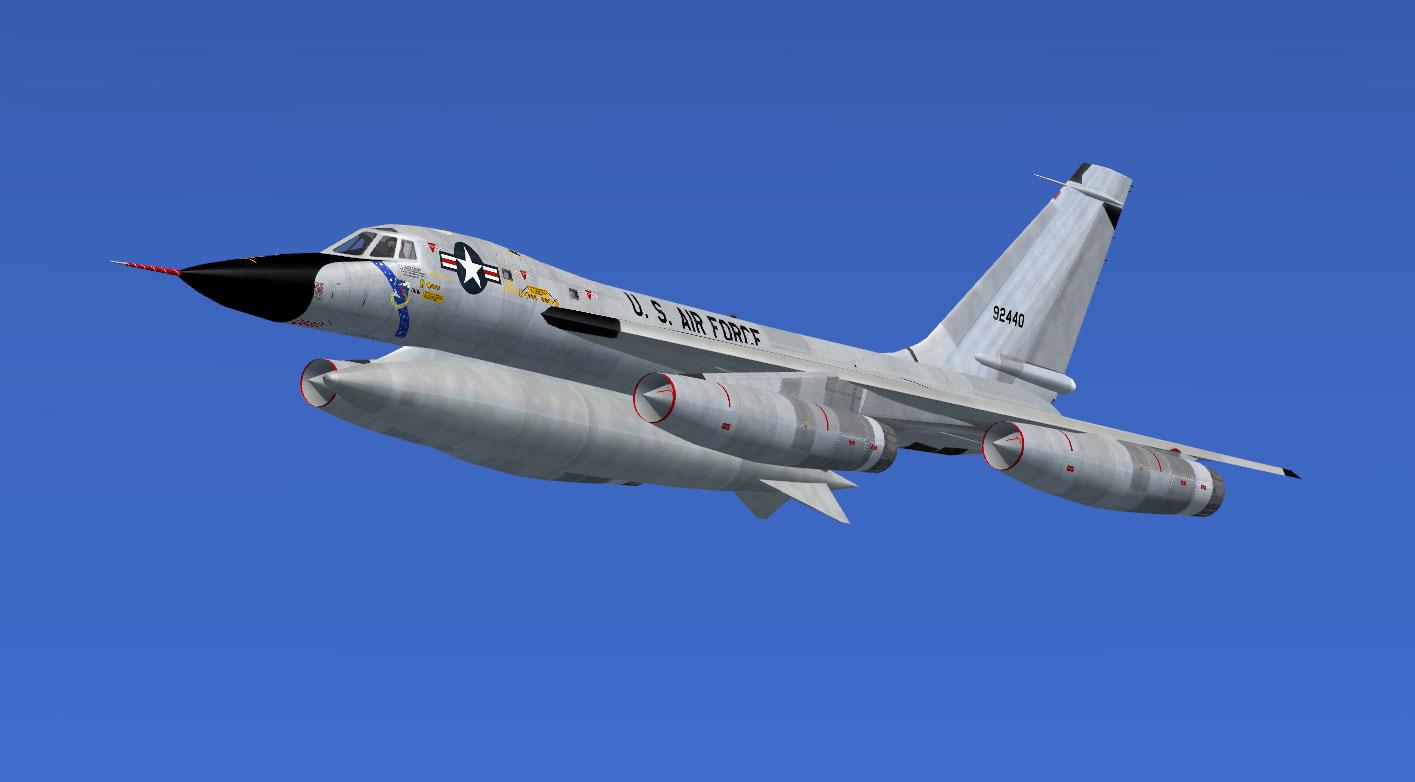 Fsx Wallpaper Hd Us Air Force Convair B 58 59 2440 For Fsx
