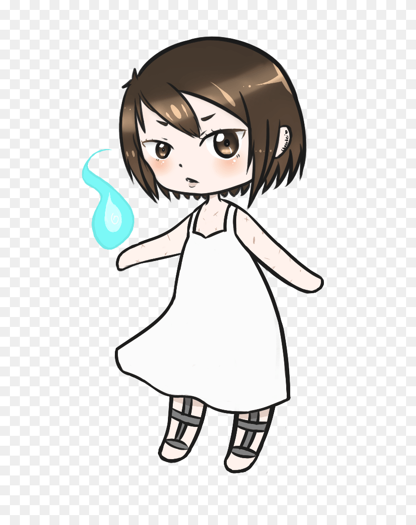 Draw You Or Your Character As A Cute Anime Chibi - Anime Chibi PNG