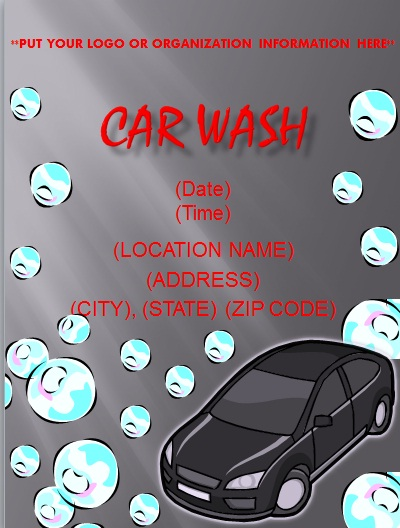 Free Car Wash Flyer Templates Flyer And Resume Templates - car wash flyer template