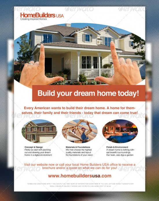 home for sale flyer templates free