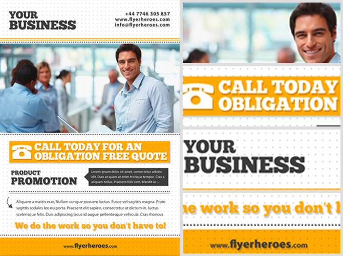Free Business Flyer Template - FlyerHeroes
