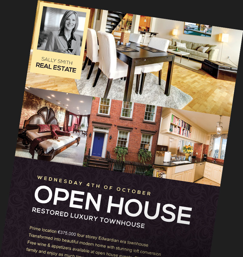 Real Estate Flyer Templates for Photoshop - FlyerHeroes