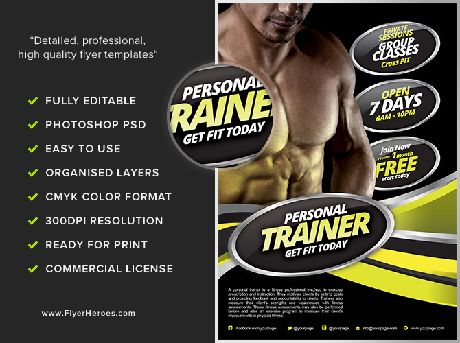 fitness flyers - Mersnproforum - Fitness Templates Free