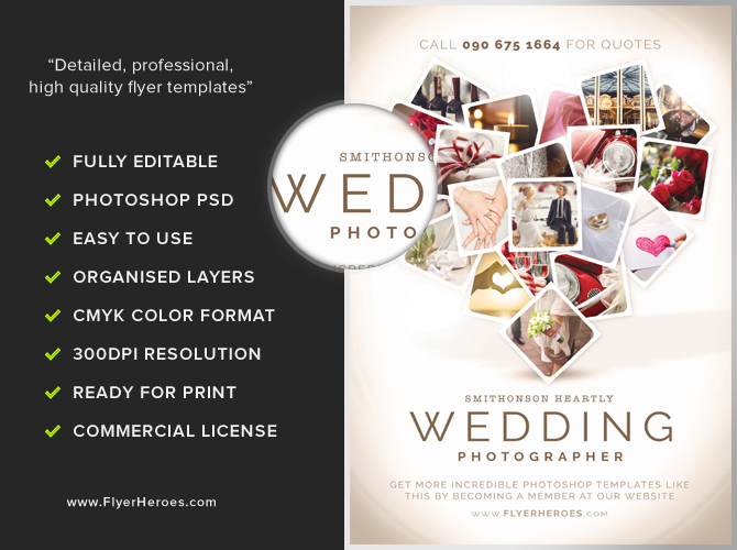 wedding flyer template - Goalgoodwinmetals - wedding brochure template