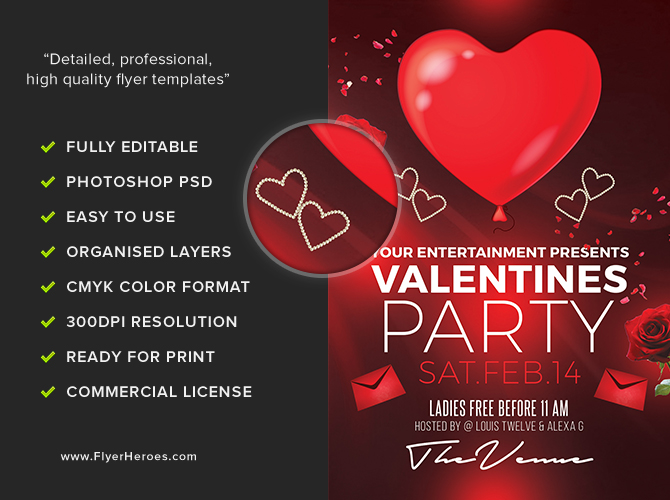 valentines day flyer - Goalgoodwinmetals