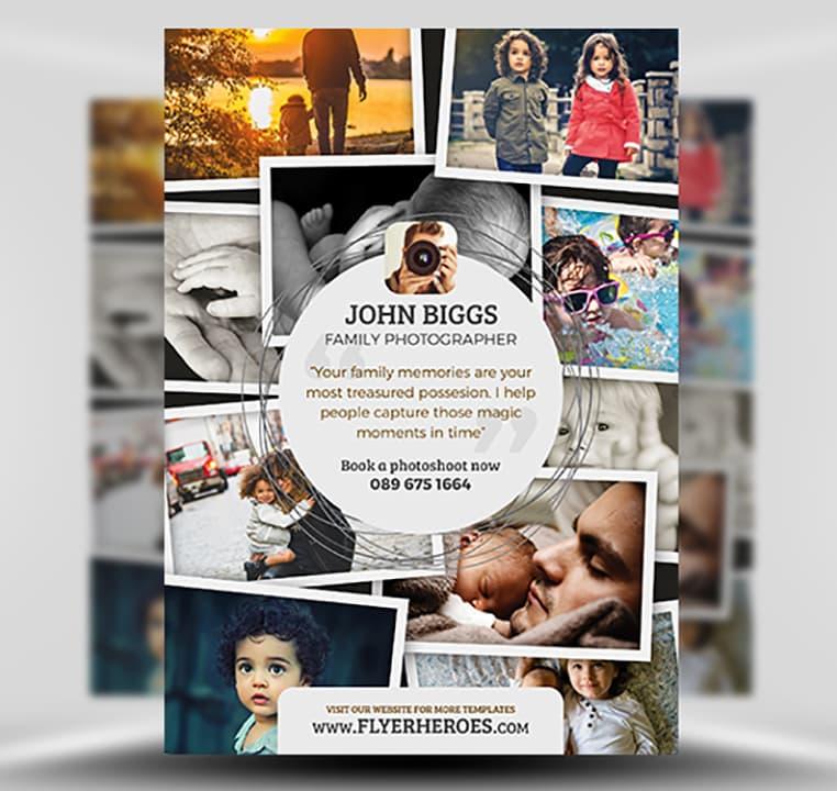Photography Flyer Template V2 - FlyerHeroes