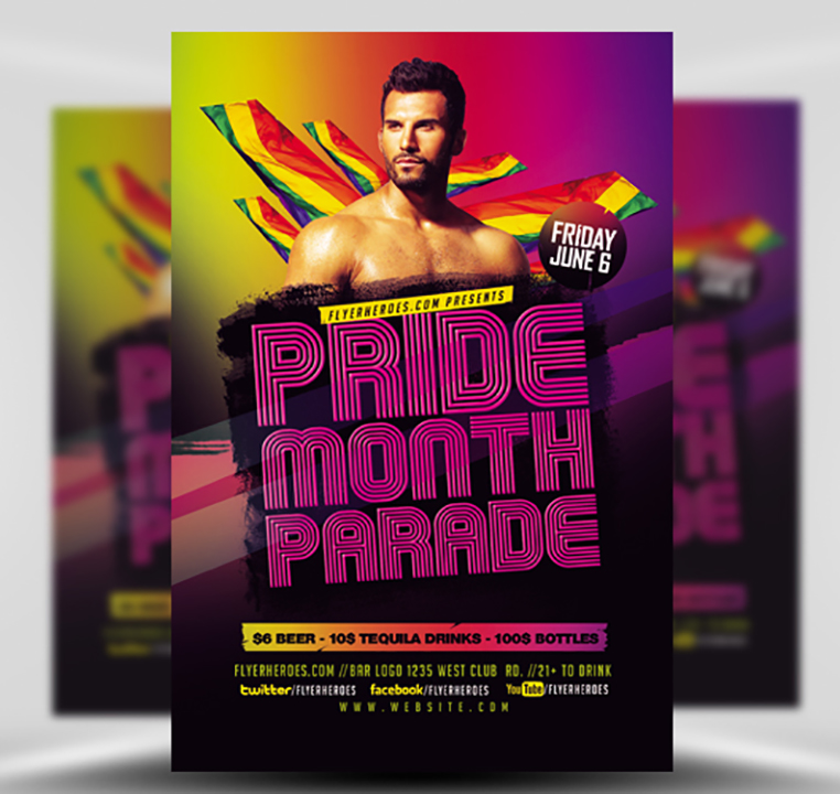 parade flyer template
