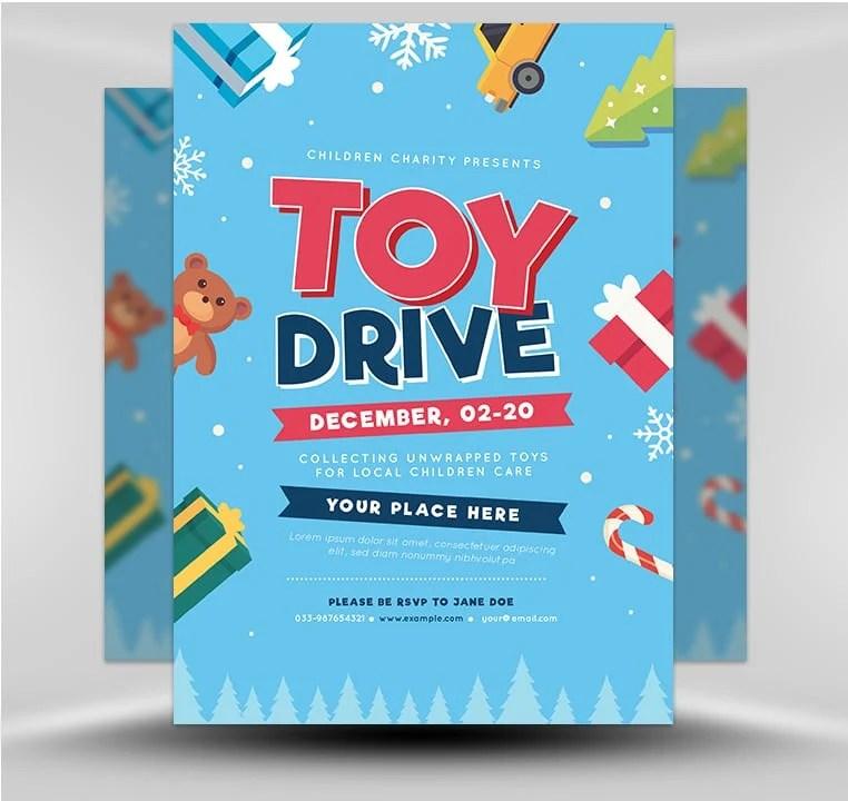Toy Drive v2 - FlyerHeroes