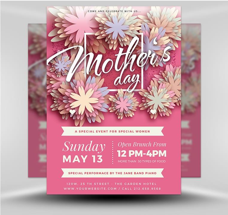 Mother\u0027s Day v1 - FlyerHeroes
