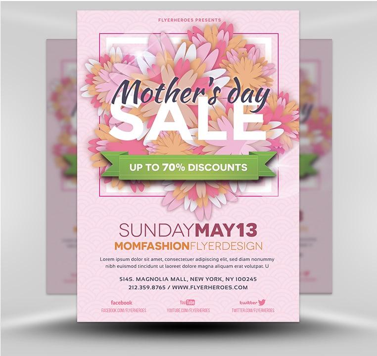 Mother\u0027s Day v2 - FlyerHeroes