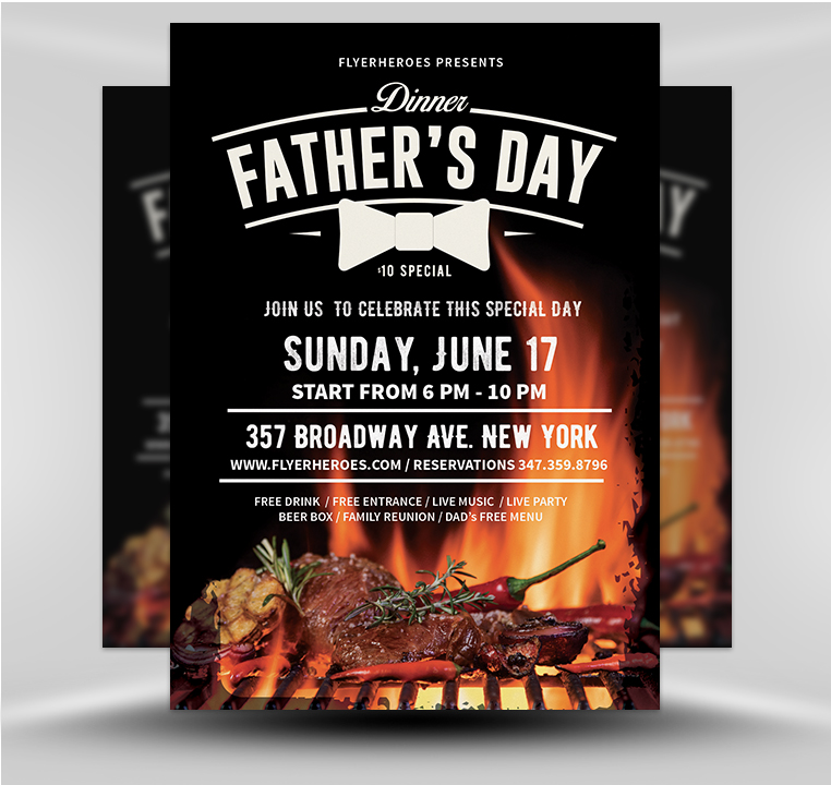 Father\u0027s Day Flyer 3 - FlyerHeroes