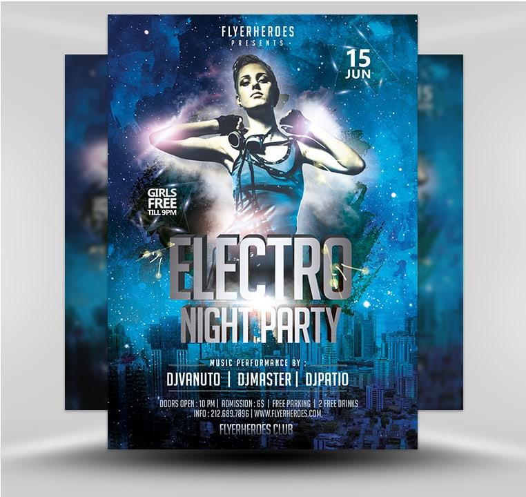 Night Club 418 - FlyerHeroes