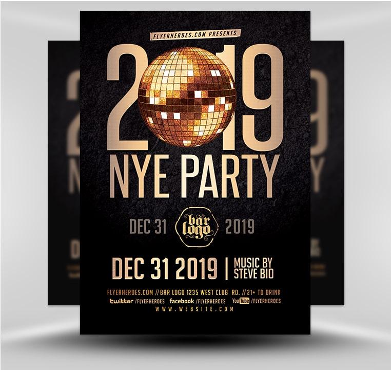 New Years 2019 V3 - FlyerHeroes