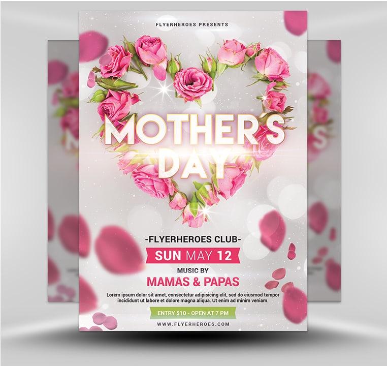 Mother\u0027s Day Flyer 519 - FlyerHeroes