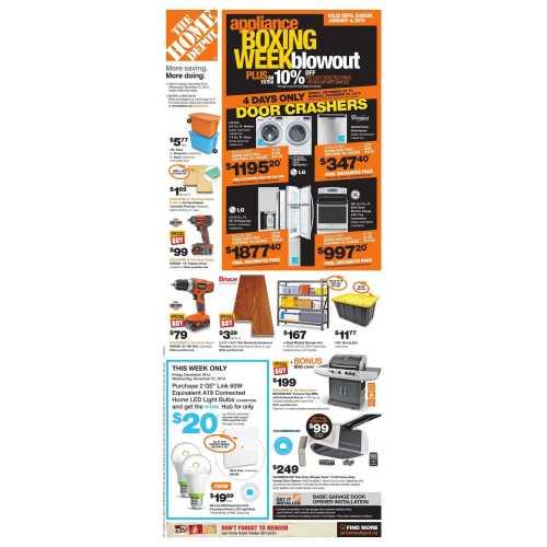 Medium Crop Of Home Depot Cyber Monday